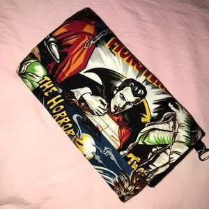 Universal Monsters Custom Trifold Wallet/Clutch